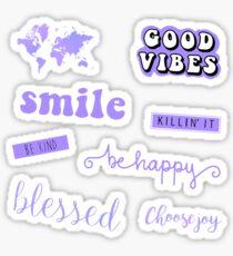 Pastel Purple Pack Sticker