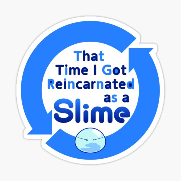the time i got reincarnated as a slime Sticker