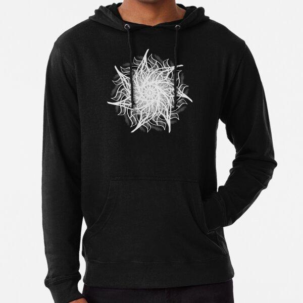 Pattern, Cryptic Spren White Lightweight Hoodie