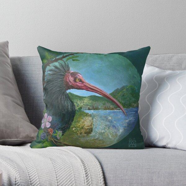 oiseau  Ibis chauve Coussin