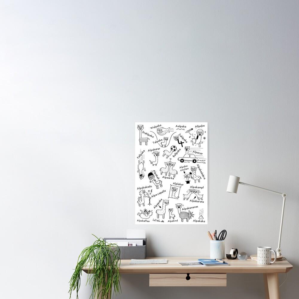 Alpakas Poster