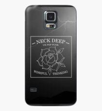 neck deep - wishful thinking Case/Skin for Samsung Galaxy