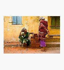 Workers. Chennai Photographic Print
