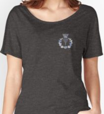 Chrome like Scottish Thistle Women's Relaxed Fit T-Shirt