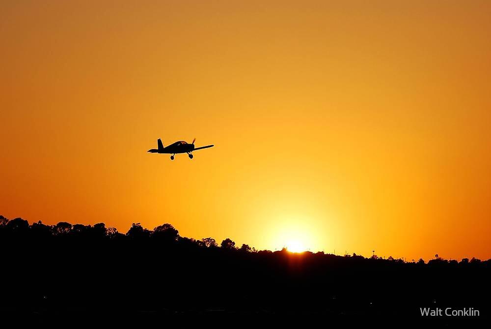Torrance Airport by Walt Conklin