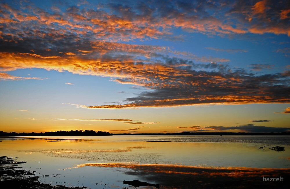 Mallabula, magic sunset by bazcelt