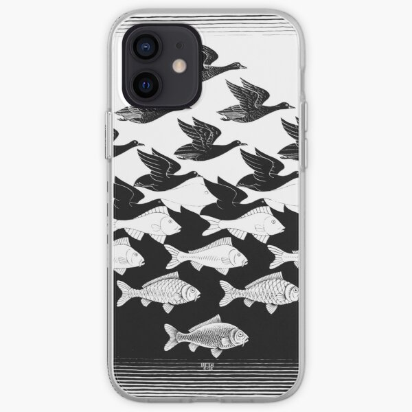 Water and Sky - Escher iPhone Soft Case