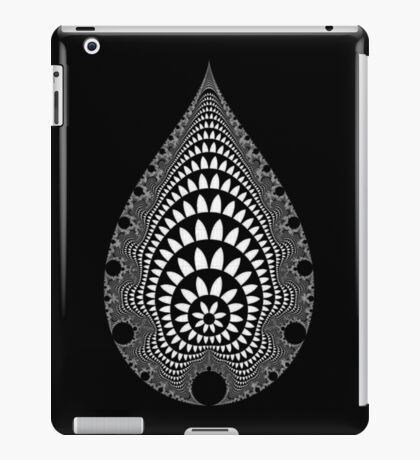 Inverted Mandelbrot V v2 iPad Case/Skin