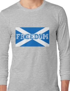 Freedom for Scotland Long Sleeve T-Shirt