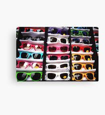 80's Sunglasses, Camden Markets - London Canvas Print