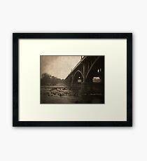 Gervais Street Bridge. Framed Print