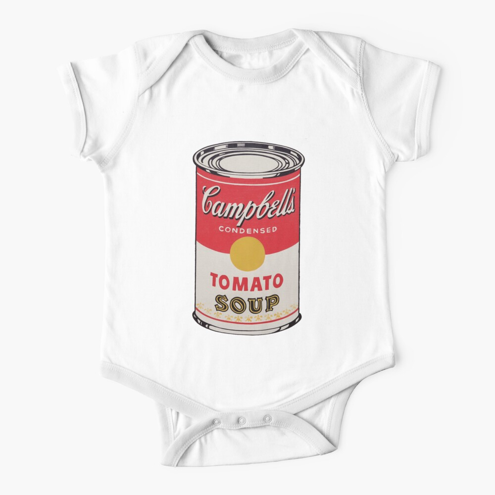Campbell soup - Andy Warhol Baby One-Piece