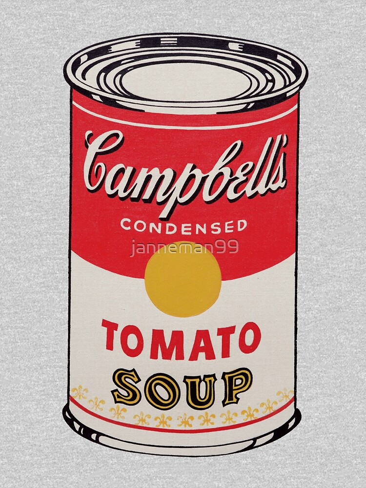 Campbell soup - Andy Warhol by janneman99