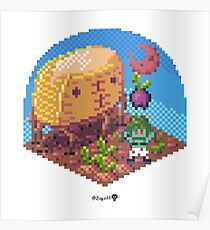 Phylla Harvest Moon Cube Poster