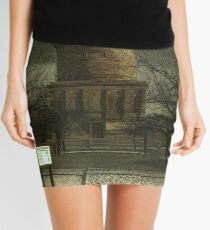 Hamilton Mausoleum , on the Dark Side Mini Skirt