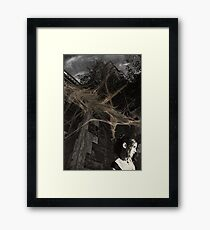 any clarity fades with the dawn Framed Print