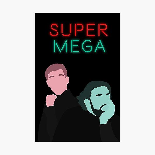 Minimalistic SuperMega  Photographic Print