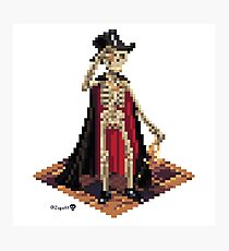 Vincent, Prince of the Underdark - Skeleton Cube Photographic Print