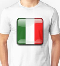 Italian Flag, Italy Icon Unisex T-Shirt
