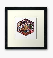 Office Cube Framed Print