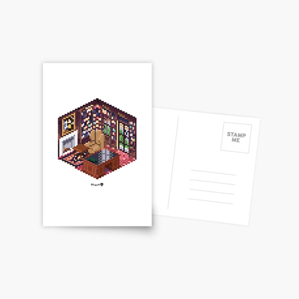 Office Cube Postcard