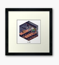 Phylla Dungeon Cube Framed Print