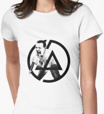 Chester Bennington from Linkin Park Women's Fitted T-Shirt