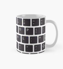 PC Computer Keyboard Buttons Design Mug