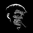 Ian Curtis von Joy Division von Van Roland