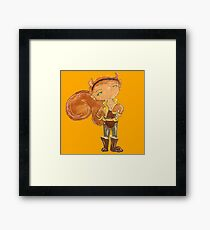 squirrel girl Framed Print