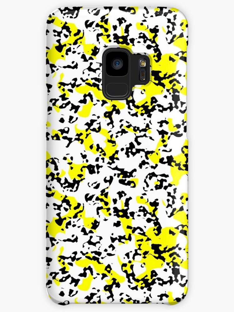 Black and yellow spots for decorative products by starchim01