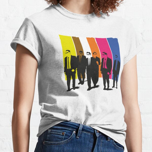 Reservoir Dogs, mr pink, mr yellow, mr orange, mr white Classic T-Shirt