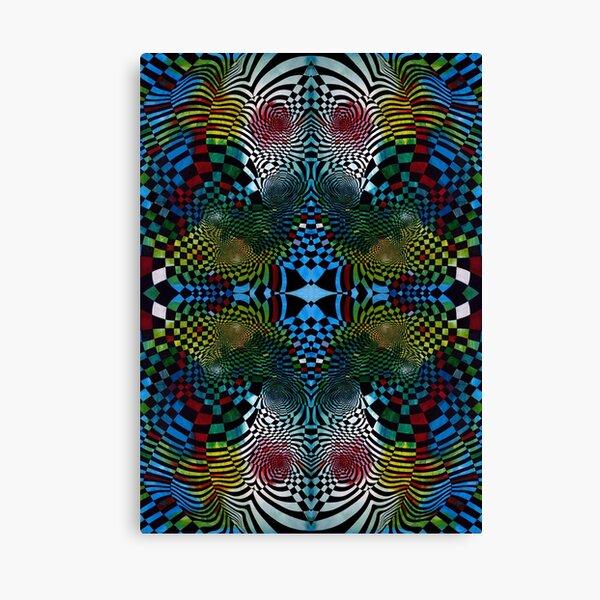 pattern, abstract, art, decoration, design, illustration, shape, ornate, bright Canvas Print