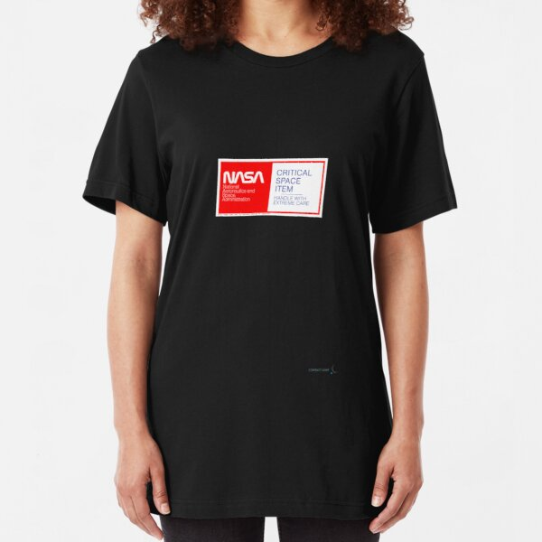 CRITICAL SPACE ITEM - HANDLE WITH EXTREME CARE Slim Fit T-Shirt