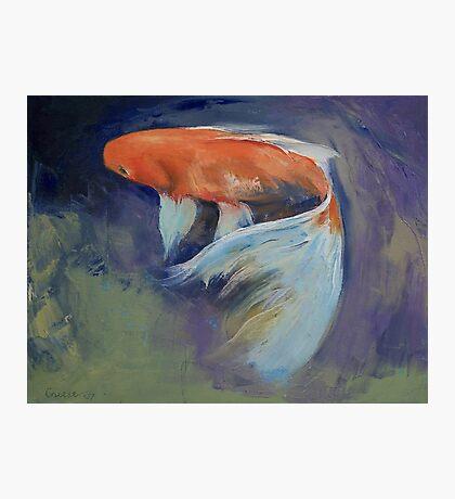Koi Fish Painting Photographic Print