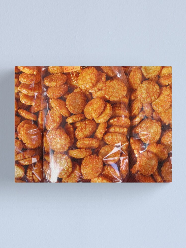 Alternate view of Food - hot rice crispies Canvas Print