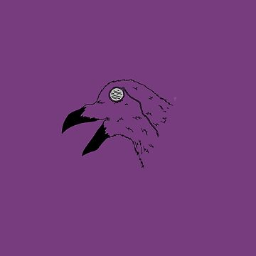 Raven in a Monocle  by Chiswick