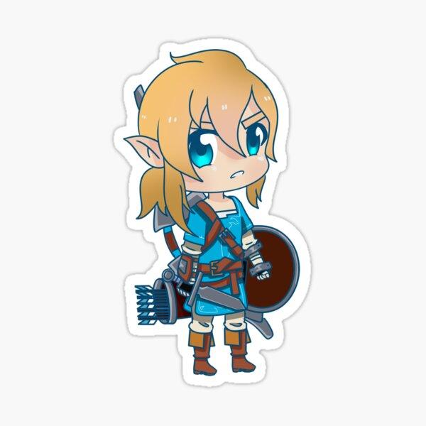 Legend of zelda - Breath of the wild ( Link ) Sticker