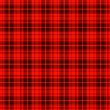 Bright Red Tartan by harrizon