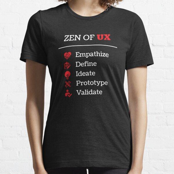UX Design - Design Thinking Process - Designer - UX - T-Shirt Essential T-Shirt