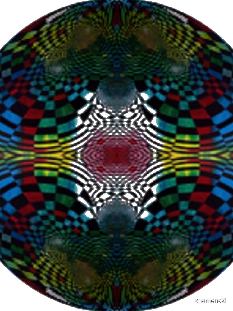 #Pattern #FractalArt #Circle #Symmetry #Design Ornament decoration bright ornate shape art abstract separation circle colors square by znamenski