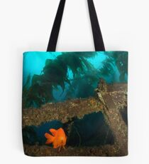 Garibaldi Damselfish Tote Bag