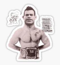 Brown Champion Sticker