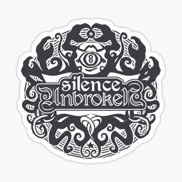 Silence Unbroken /emblem_eigengrau Sticker