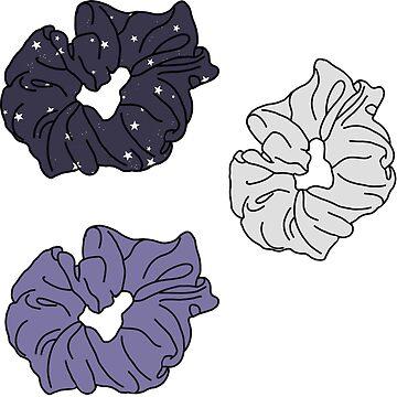 Scrunchie Purple Pack de abbyconnellyy