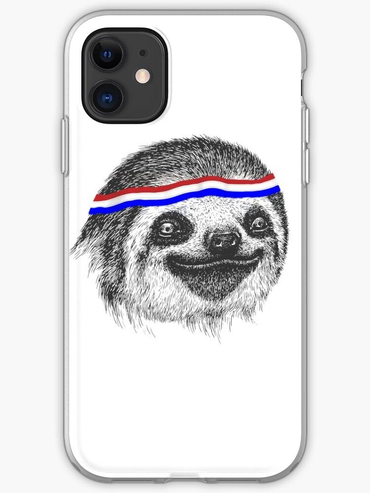 Sloth I Love Lazy 3 iphone case
