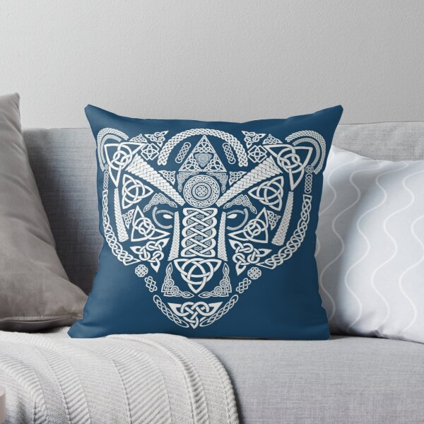 Knotted Bear Throw Pillow