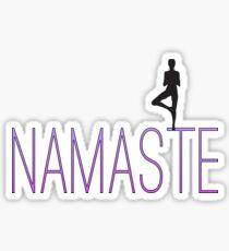 "Trolls-Inspired ""Namaste""  Sticker"
