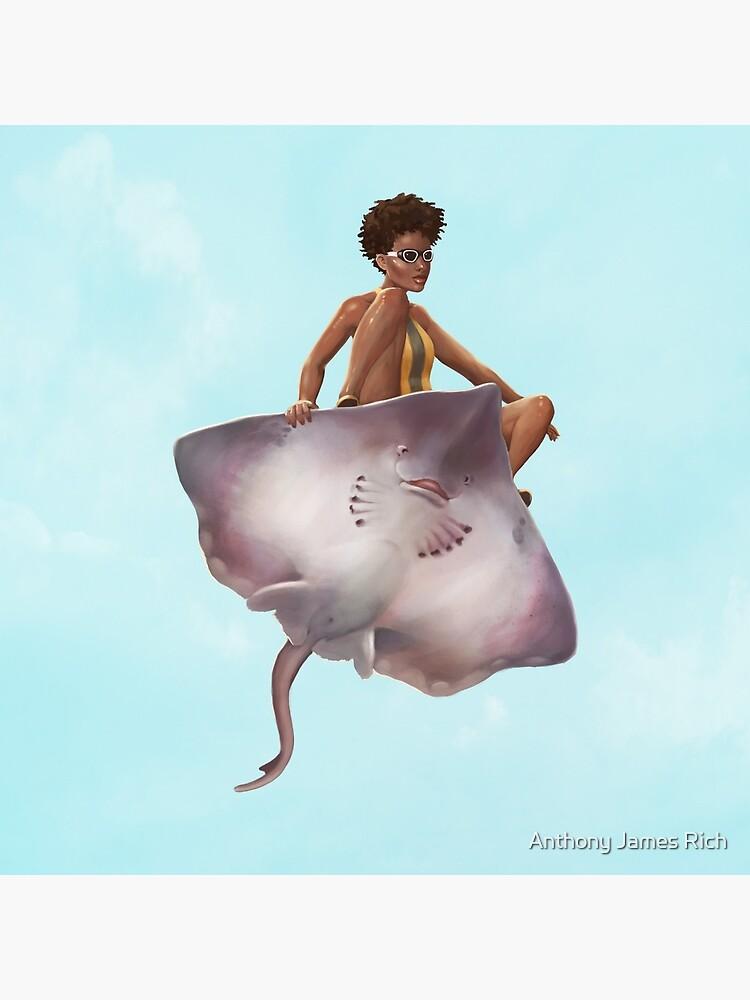 Skater Girl | Digital Illustration by AJRart