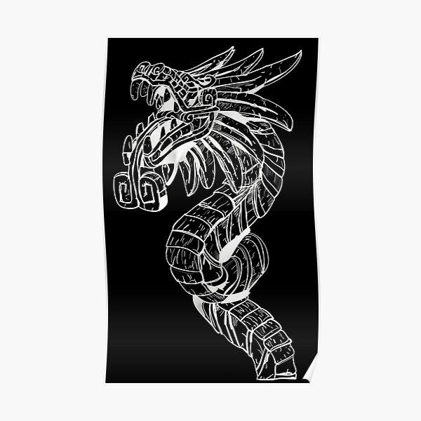 Quetzalcoatl Dragon  Poster